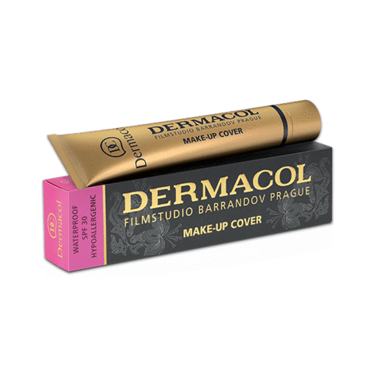 Dermacol Foundation Full Coverage Makeup Under Eye Cover Stick Erases Acne Tattoos Birthmarks Light Medium Or Tanned Available