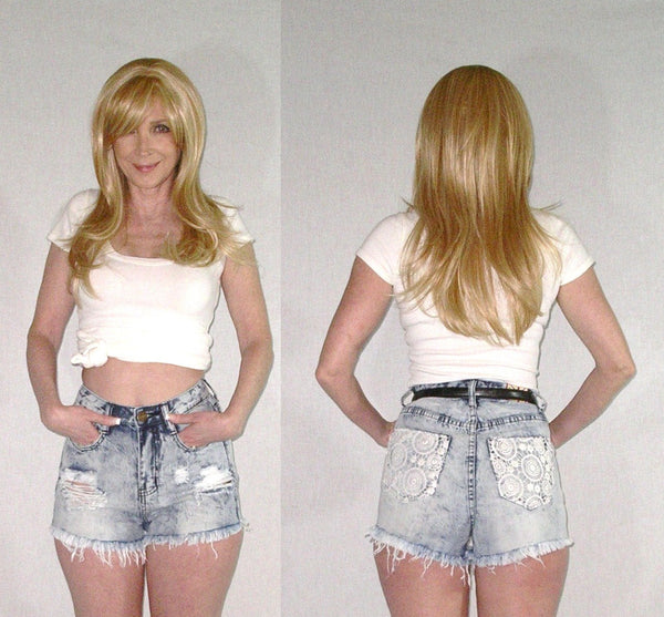 Machine Jeans Shorts
