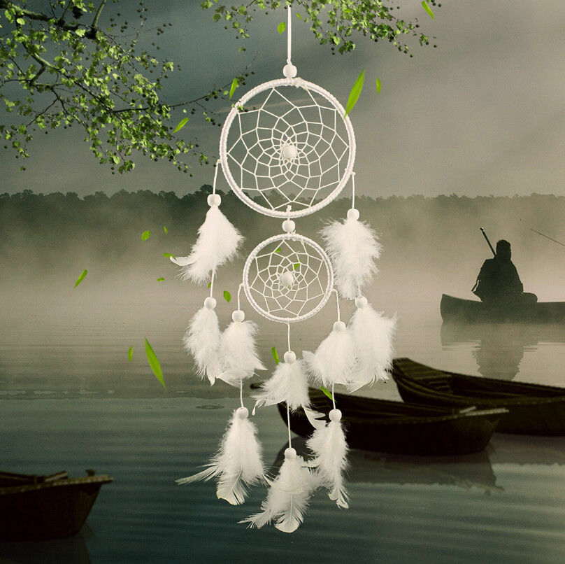 White Dream Catcher