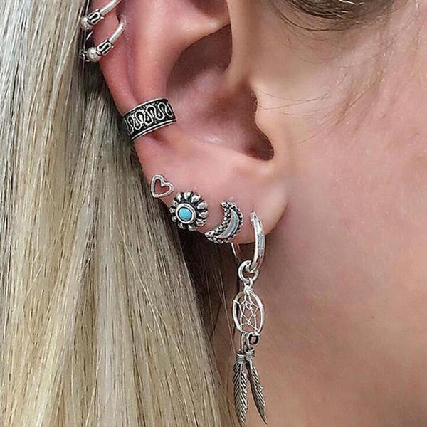 Stacking Earrings Set