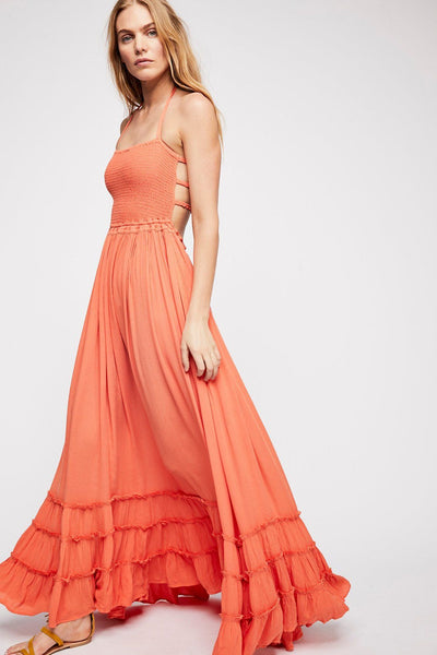 Coral Extratropical Dress