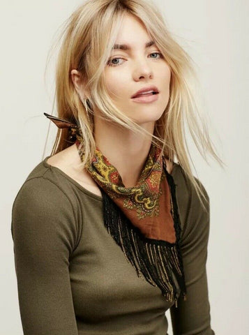 Free People Chase Me Bandanna