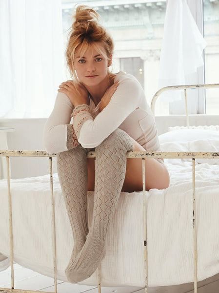 Free People Filomena Socks