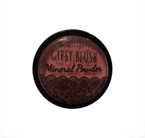 Gypsy Blush Mineral Powder By Boe Beauty Dusty Rose Shimmering Face And Body Powder .17 Oz.