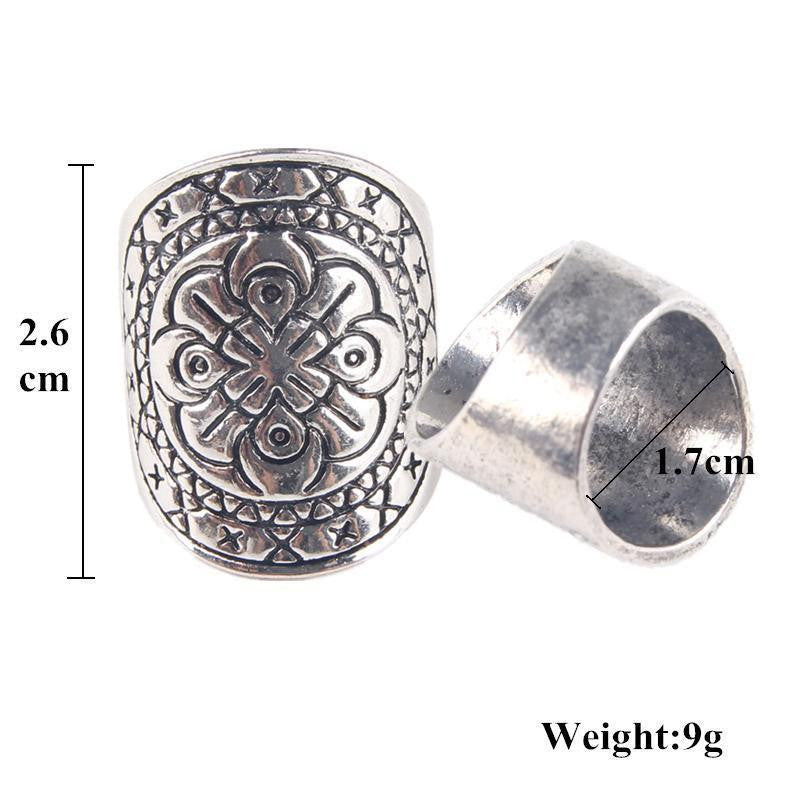 oxidized diem rings products shield silver personalized carpe ring mens