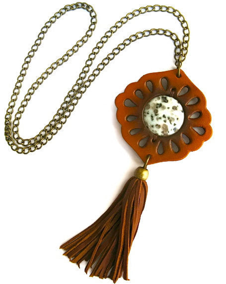 Karen Kell Tassel Necklace