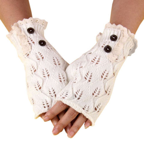 Boho Fingerless Gloves