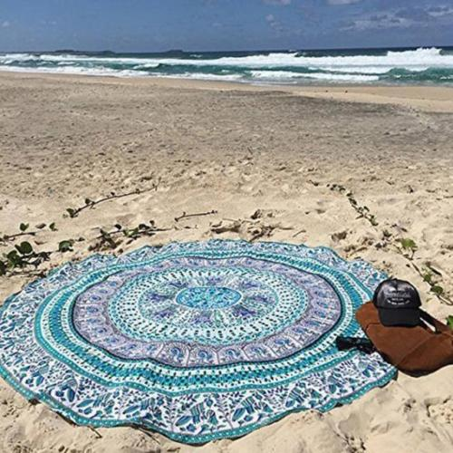 Beach Roundie Blue