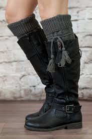 Alpine Boot Socks Tassels