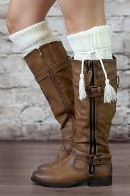 Alpine Boot Socks Ivory Thigh High Tie Top Tassels Thick Boho Cream Off White Diamond Cable Knit Slouch Or Fold Down Cuffs Over The Knee