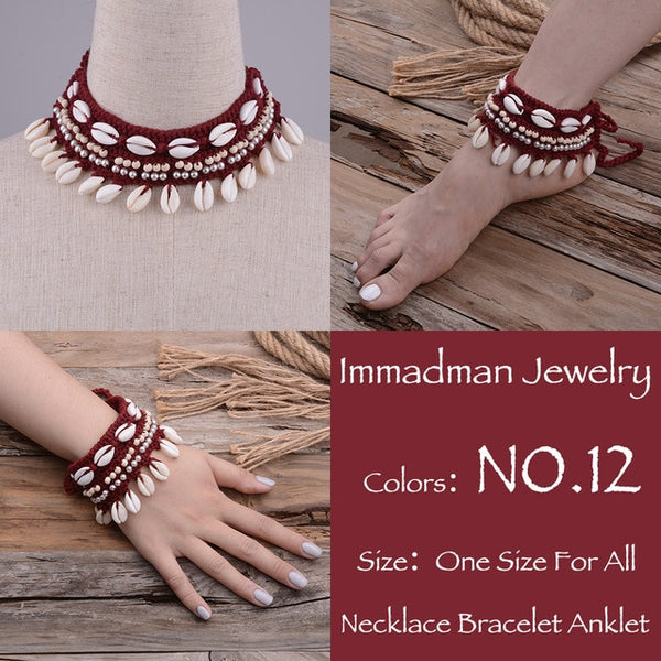Burgundy Banjara Necklace