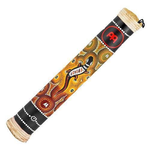 "Rainstick Black Bamboo 16"" Gecko Tribal Musical Instrument Rain Stick Makes Rain Forest Sound Percussion Shaker"