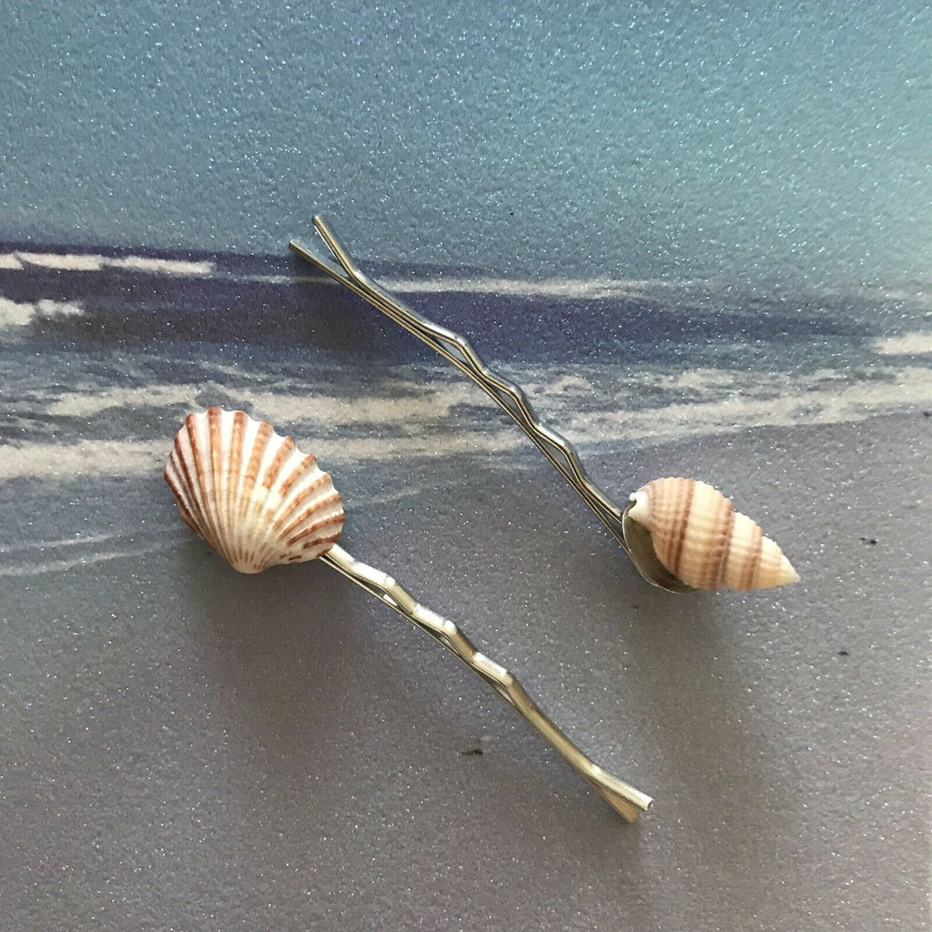Shell Bobby Pins