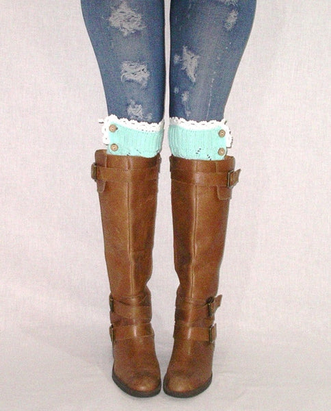 Mint Boot Toppers