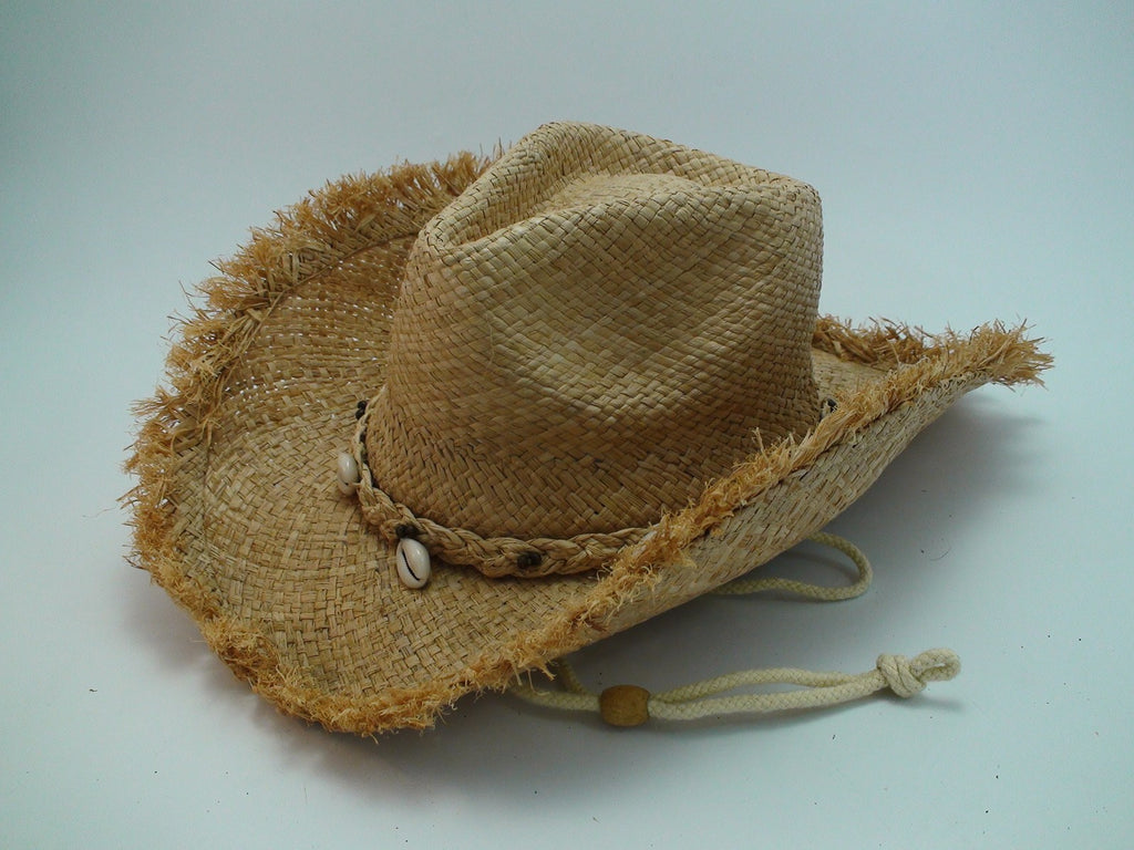 Straw Cowboy Hat Shells