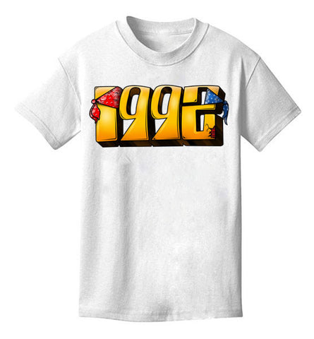 #1992 official album tee (white)