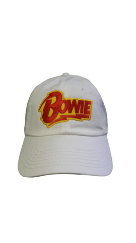 BOWIE WHITE DAD HAT