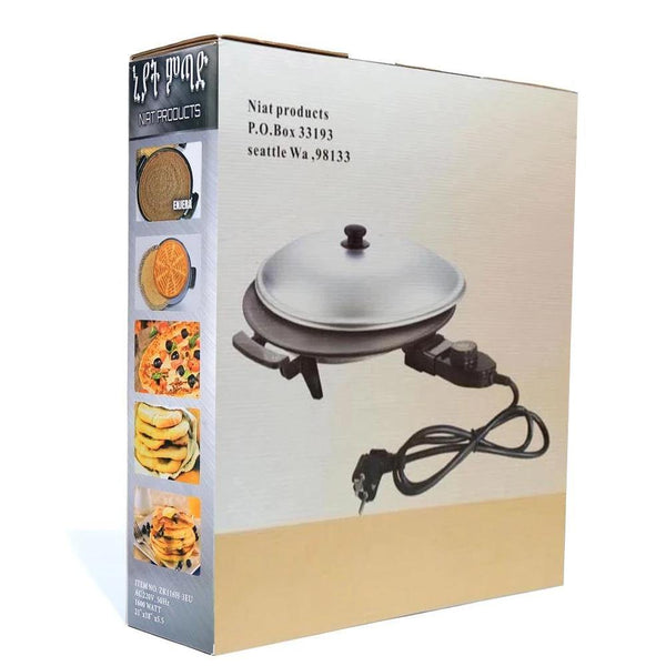 NIAT INJERA MITAD -  16 Inch Electric Grill  - for EUROPE, AUSTRALIA, MIDDLE EAST & AFRICA - Ahadu Store