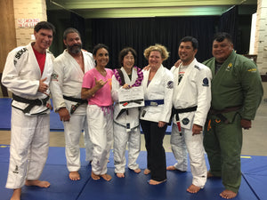 SURPRISE BJJ BLACK BELT FOR CINDY