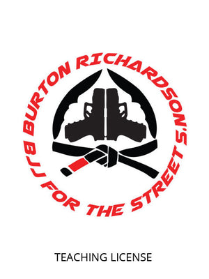 BJJ For The Street Teaching License