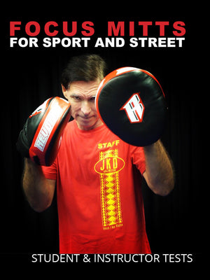 Focus Mitts For The Street and Sport Tests- Student and Instructor Levels