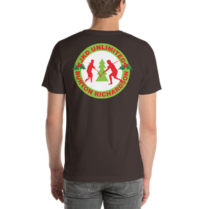 Christmas Logo - Short-Sleeve T-Shirt