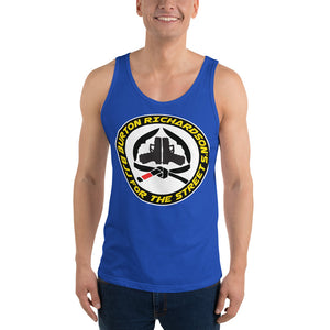 BJJ For The Street - Round Logo - Unisex  Tank Top