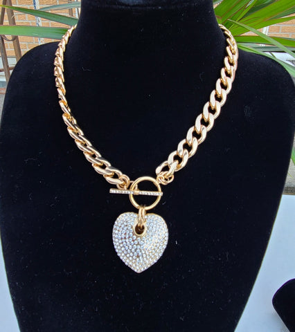 Love me cuban link necklace