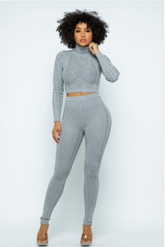 Yovanna two piece legging set