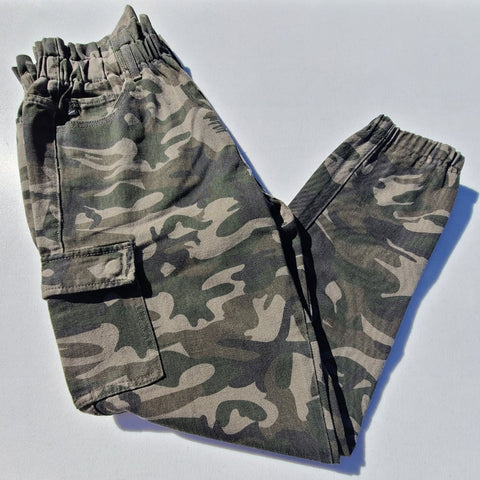 Avery high rise camouflage pants