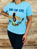 Designer inspired - blind for love tee-shirt