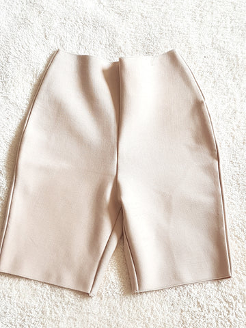 Super cute nude biker short