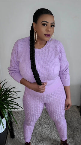 Shadina knitted  2PC set