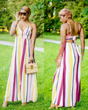 Kayla maxi dress