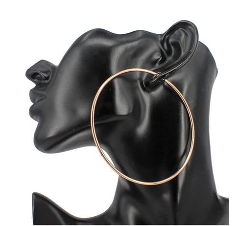 Eva urban  gold hoops