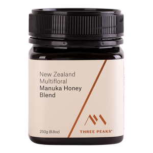 Manuka Honey Blend 250g - Three Peaks New Zealand Manuka Honey