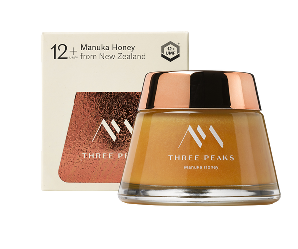 The Tongariro Jar® UMF 12+ - Three Peaks New Zealand Manuka Honey