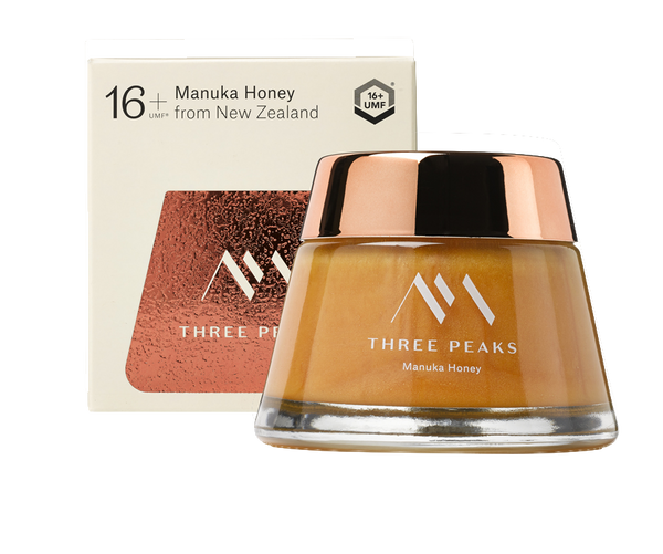 The Tongariro Jar® UMF 16+ - Three Peaks New Zealand Manuka Honey
