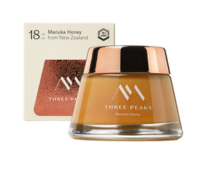 The Tongariro Jar® UMF 18+ - Three Peaks New Zealand Manuka Honey