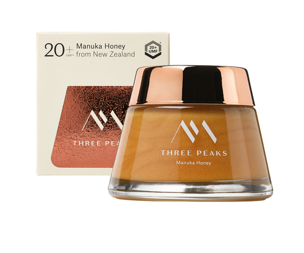 The Tongariro Jar® UMF 20+ - Three Peaks New Zealand Manuka Honey