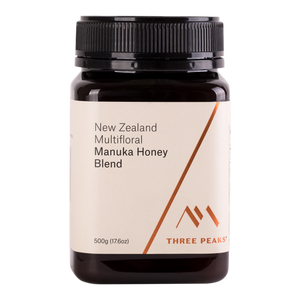 Manuka Honey Blend 500g - Three Peaks New Zealand Manuka Honey