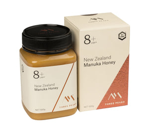 New Three Peaks Manuka Honey UMF 8+ 500g