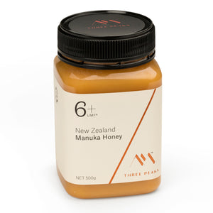 New Three Peaks Manuka Honey UMF 6+ 500g