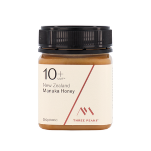 Three Peaks Manuka Honey UMF 10+ 250g