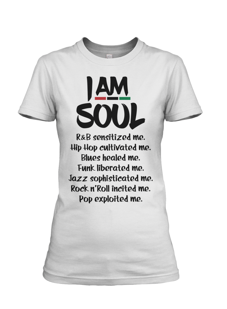 I Am Soul Women's Short Sleeve Tee