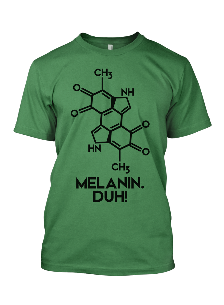 Melanin, Duh Men's Short sleeve t-shirt