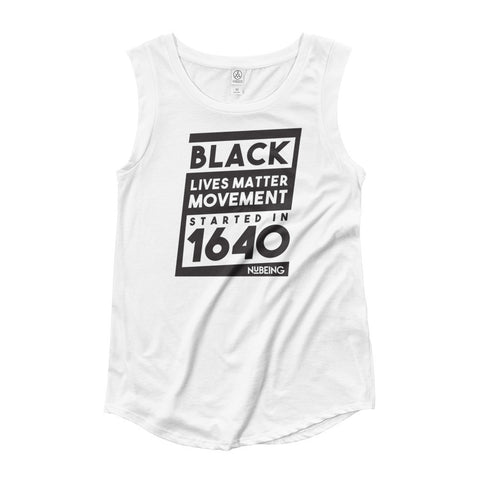 BLM since 1640 Ladies' Cap Sleeve T-Shirt