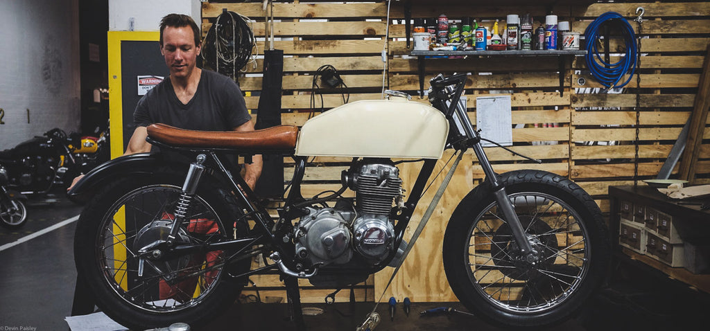 Member Build: Richard's CB400