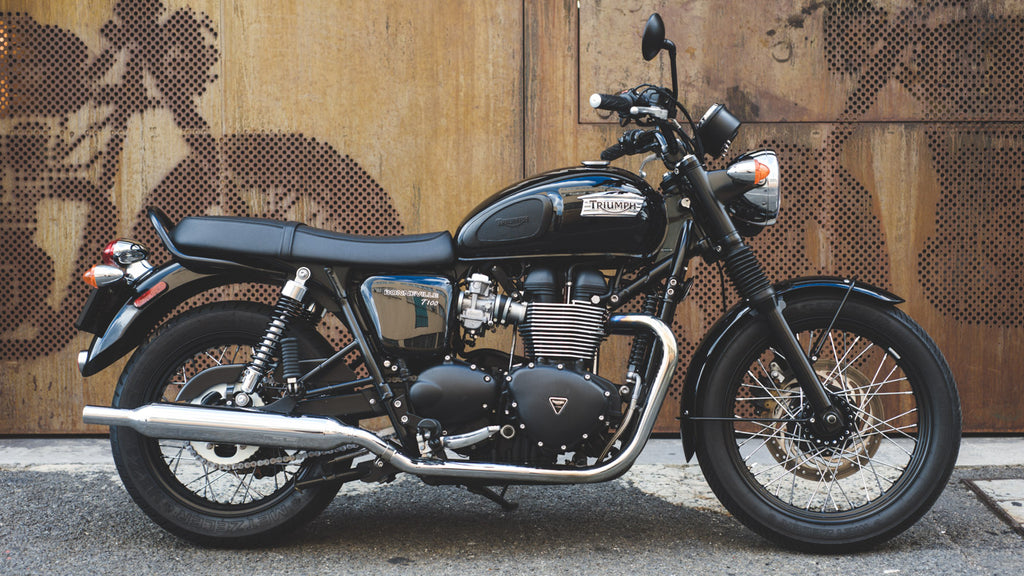 Wolf Moto Motorcycle rental triumph bonneville t100 cape town woodstock moto co