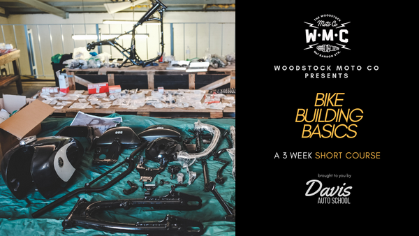 3 week course - Bike Building Basics